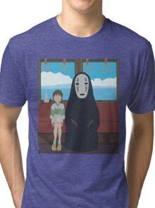 No Face Train Tri-blend T-Shirt