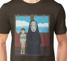 No Face Train Unisex T-Shirt