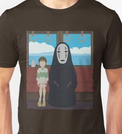 No Face Train Unisex T-Shirt