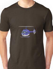 Big City Vehicles - Lion Pilot Flying Helicopter  Unisex T-Shirt