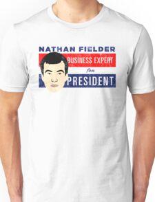 Nathan Fielder for President (Nathan for You) Unisex T-Shirt