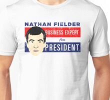 Nathan Fielder for President (Nathan for You) Unisex T-Shirt