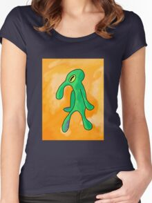 Bold and brash Women's Fitted Scoop T-Shirt