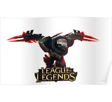 Project Zed - League of Legends Poster
