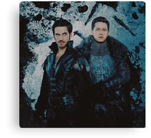 Captain Charming Canvas Print