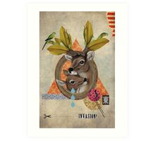 Animal Collection -- Oh Deer Art Print