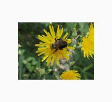 Bee on Flower Macro Unisex T-Shirt