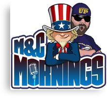 M&C Mornings Canvas Print