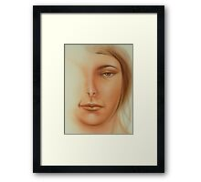 Fantasy Sketch Framed Print