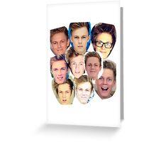 Caspar lee Greeting Card