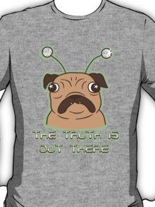 The Pug Files- fawn fur T-Shirt