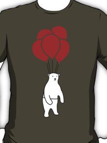 Polar Bear and Balloons  T-Shirt