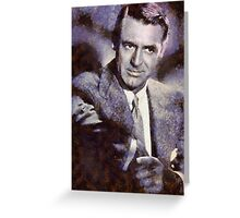 Cary Grant Hollywood Icon  Greeting Card