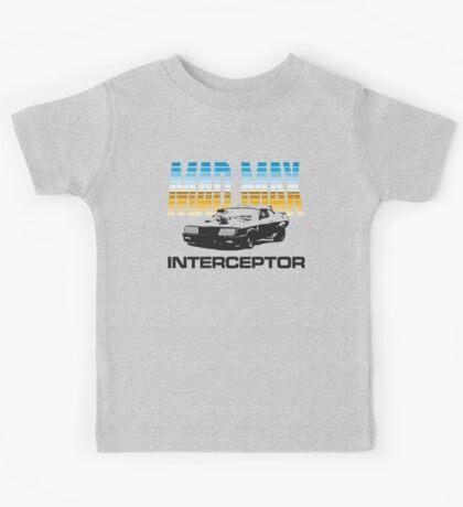MAD MAX - INTERCEPTOR (MIRROR) Kids Tee