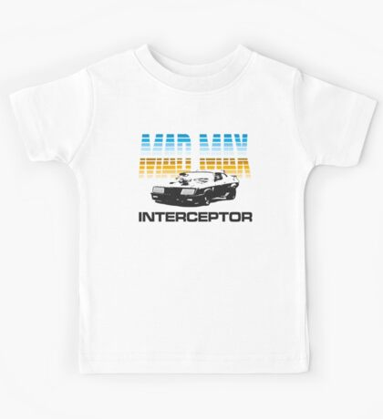 MAD MAX - INTERCEPTOR (MIRROR) Kids Tee