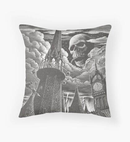 death eater signal Throw Pillow