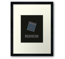 Breaking Bad minimalist poster Framed Print