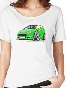 Ford Fiesta (Mk7) ST Green Women's Relaxed Fit T-Shirt