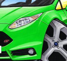 Ford Fiesta (Mk7) ST Green Sticker