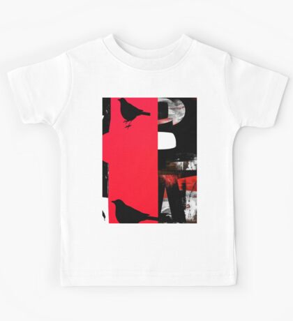 birds and the shade Kids Tee