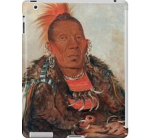 Wah-ro-née-sah (The Surrounder) Chief of the Otoe tribe. iPad Case/Skin