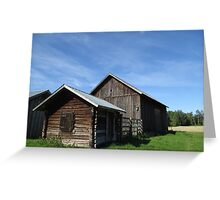 Swedish Barns Greeting Card
