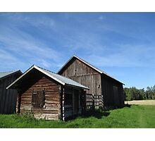 Swedish Barns Photographic Print