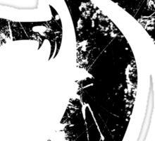 Black Fear Class Grunge Sticker