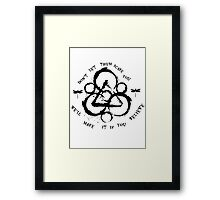 Coheed and Cambria Framed Print