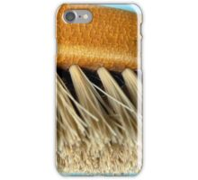 Old clothes brush iPhone Case/Skin