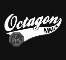 Octagon Baseball Logo One Piece - Short Sleeve