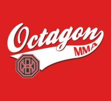 Octagon Baseball Logo Kids Tee