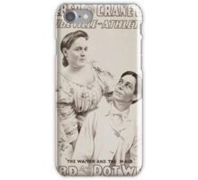 Performing Arts Posters Roeber and Crane Bro's Vaudeville Athletic Co 0364 iPhone Case/Skin