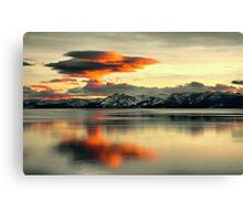 Atmospheric Explosion Canvas Print