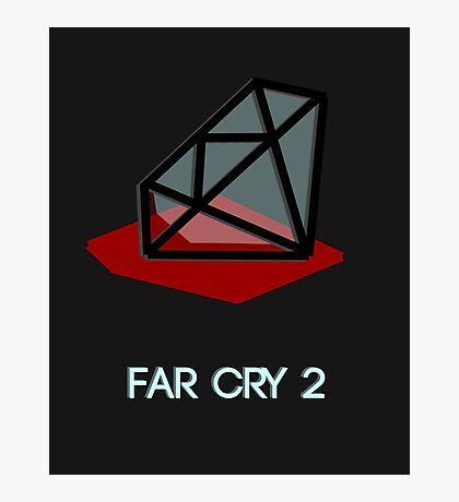 Far Cry 2 minimalist poster Photographic Print