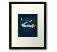 Z for Zoom Framed Print