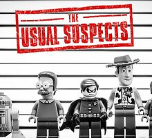 The Usual Suspects by monkeyshrike