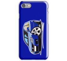 VW Golf (Mk5) GTi Blue iPhone Case/Skin