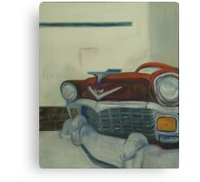Chevy-astract impressionism Canvas Print