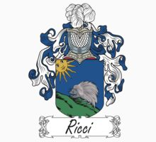 Ricci Coat of Arms (di Toscana) by coatsofarms