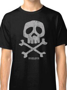 Captain Harlock Skull Classic T-Shirt