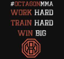 Octagon MMA Hashtag Logo Kids Tee