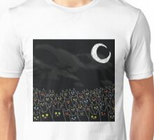 Moonlit Cats Unisex T-Shirt