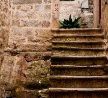 Stone Stairs Sticker