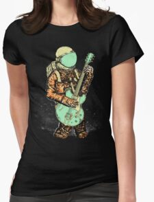 alone in my space Womens Fitted T-Shirt
