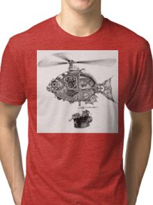 Weebits Flying Fish Excursion Tri-blend T-Shirt