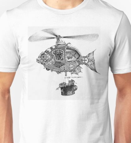 Weebits Flying Fish Excursion Unisex T-Shirt