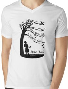 To Kill a Mockingbird Mens V-Neck T-Shirt
