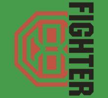 Octagon MMA Fighter Logo One Piece - Short Sleeve