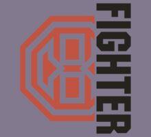 Octagon MMA Fighter Logo Kids Tee